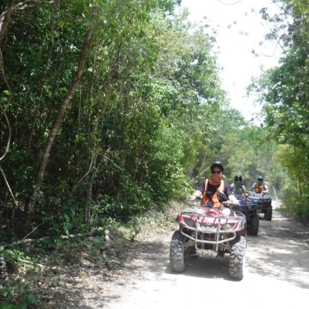 Quadtour durch den Dschungel