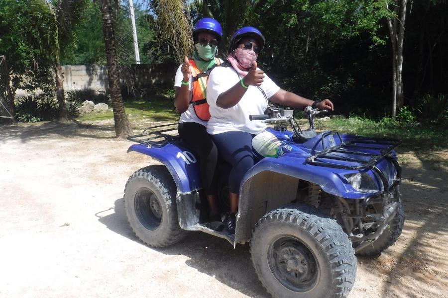 Double rider ATV